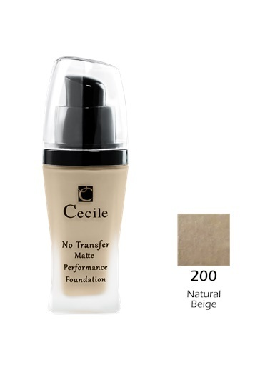 Cecile No Transfer Matte Perf. Foundation  200 Ten